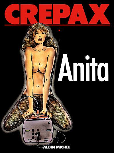 Guidi Crepax Anita Couv
