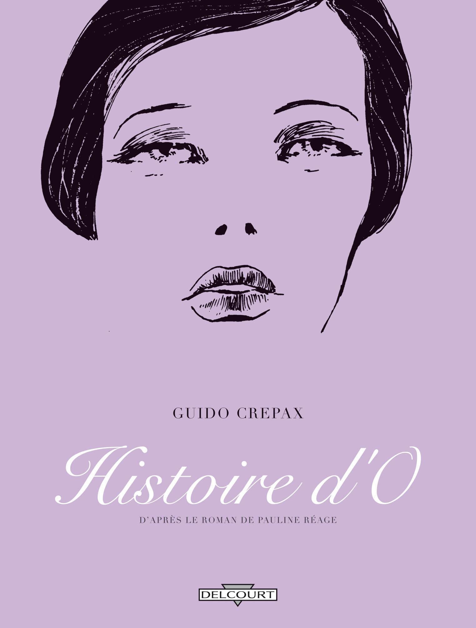 Guido Crepax Histoire O Couv
