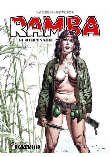 Marco Delizia Ramba Mercenaire Couv