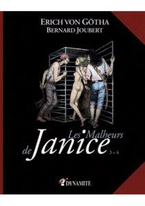 Erich Von gotha Les Malheurs de Janice 3 et 4 Couv