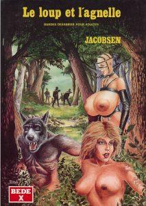 Jacobsen Le Loup et l'Agnelle Couv