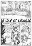 Jacobsen Le Loup et l'Agnelle
