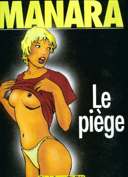 Milo Manara Le Piege Couv