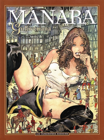 Gulliveriana Manara Couv