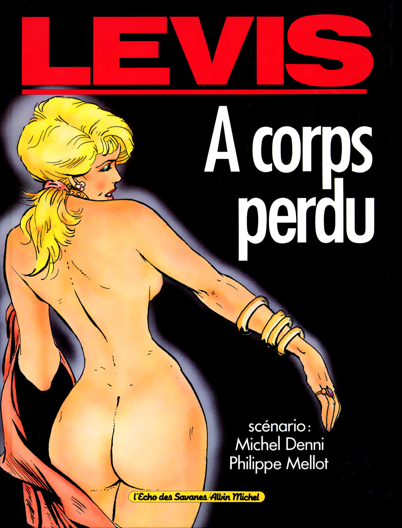 Levis A Corps Perdu Couv