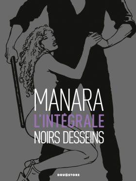 NOIR DESSEIN MANARA COUV