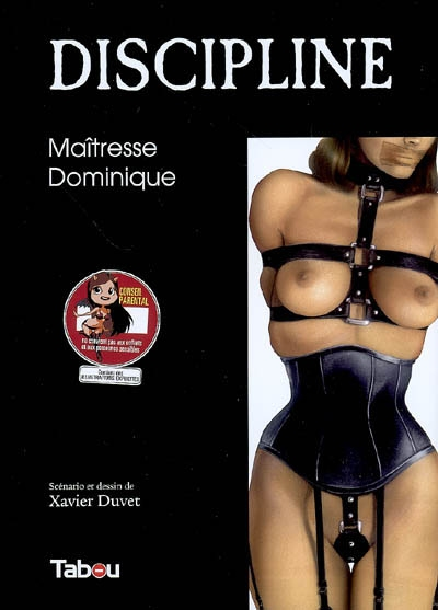 Xavier Duvet Discipline Maitresse Dominique couv