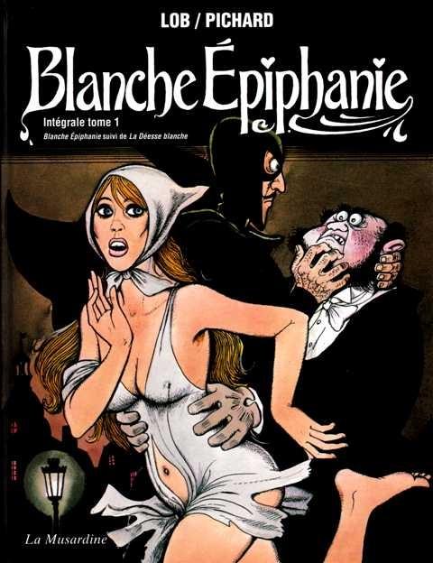 Lob Pichard Blanche Epiphanie T1 Couv
