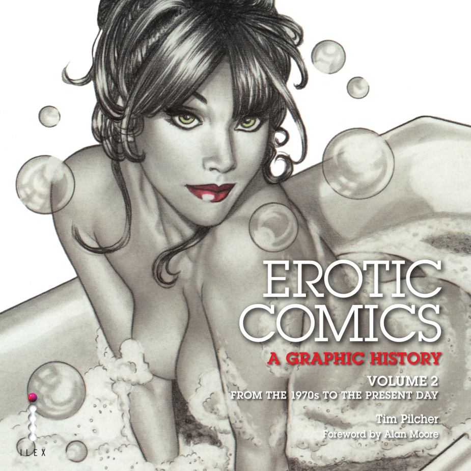 Tim Pilcher Erotic Comics 2 Couv