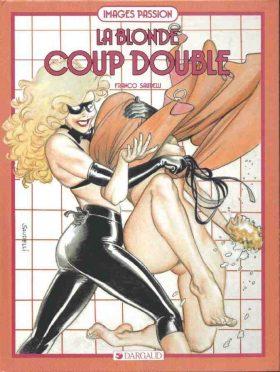 Franco Saudelli La Blonde Coup Double Couv
