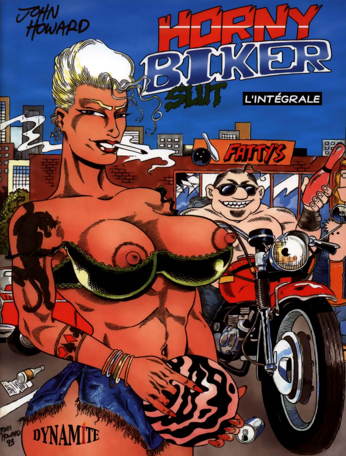 Horny biker slut comics other