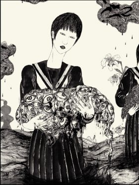 Daisuke Ichiba Grossesse Nerveuse Couv