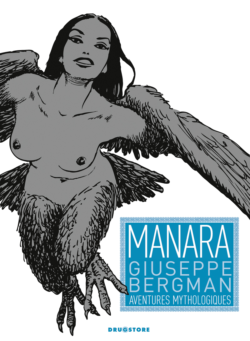Manara Aventures Mythologiques Couv