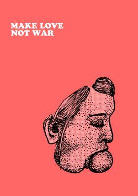 Guillaume Soulatges Make Love Not War Couv