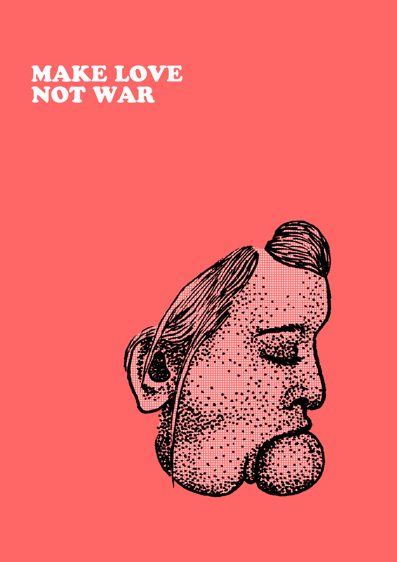Guillaume Soulatges Make Love Not War Couv