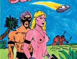 Dave Et Cap. Willard The Sex Visitors Couv