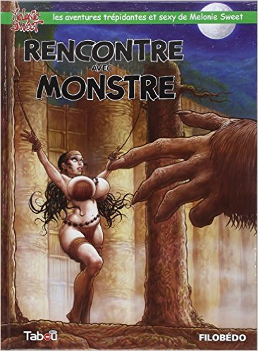 Melonie Sweet 2 Rencontre Monstre Couv