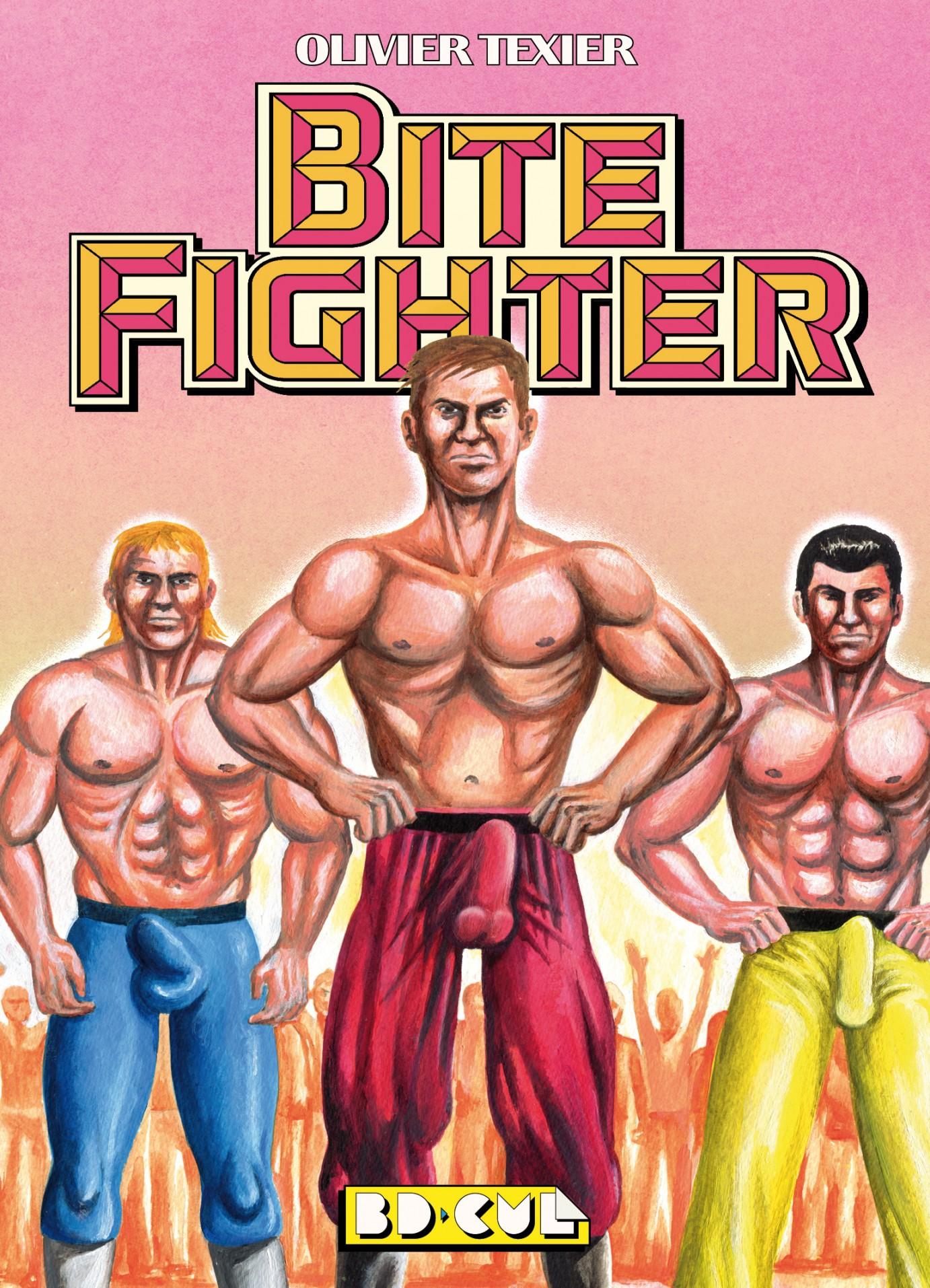 Olivier Texier Bite Fighter Couv
