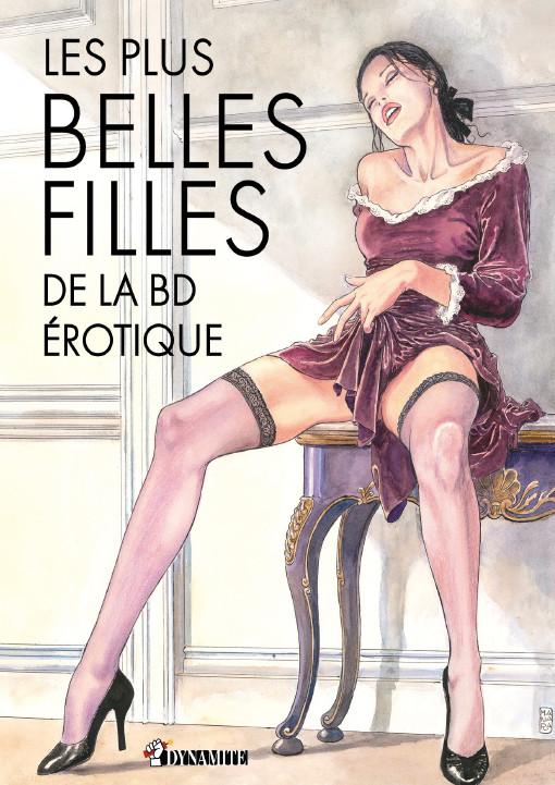 Nicolas Cartelet Plus Belles Filles BD Erotique Couv